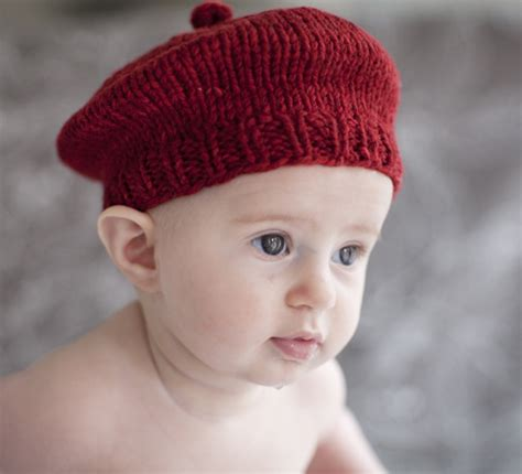 free baby beret knitting pattern easy baby knitting patterns windmill beret