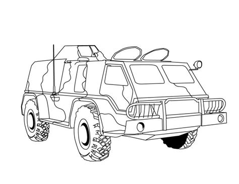 army vehicles coloring worksheets coloring pages