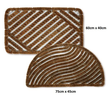 Boot Scraper Mats Outdoor by Bradfield Heavy Duty Coir Door Mat Traditional Outdoor Mud