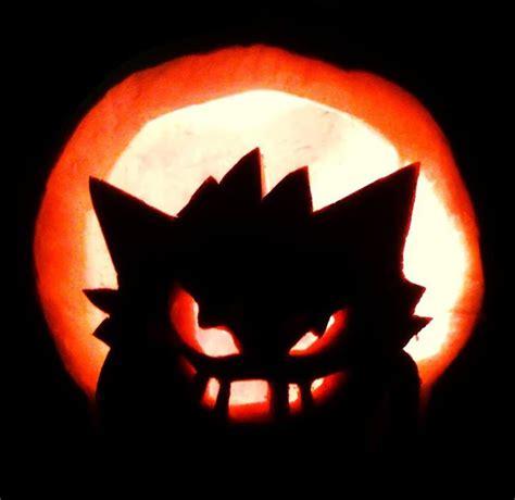 gengar pokemon pumpkin stencil images pokemon images