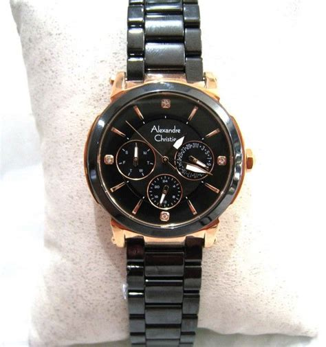 Jam Tangan Alexandre Christie Kw stainless steel waterproof high end jam tangan wanita
