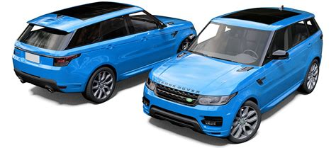 light blue land rover range rover sport svr reforma uk