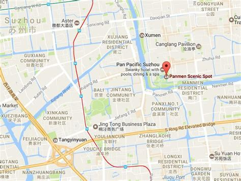 map of chions gate florida panmen gate the oldest city gate of suzhou