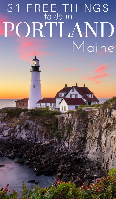 best things to do in portland faremahine 31 free things to do in portland maine our roaming hearts best