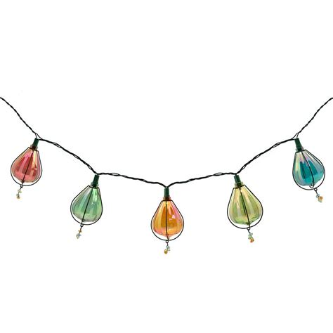 Hton Bay 10 Light 99 In Iridescent Plastic Cover String Light Covers