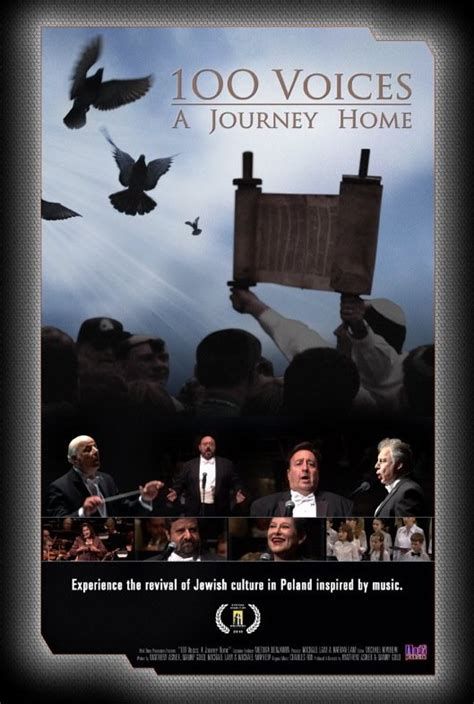 100 voices a journey home poster