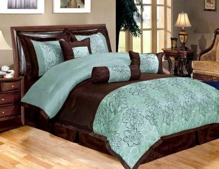 turquoise and brown bedding new 11 piece queen bedding