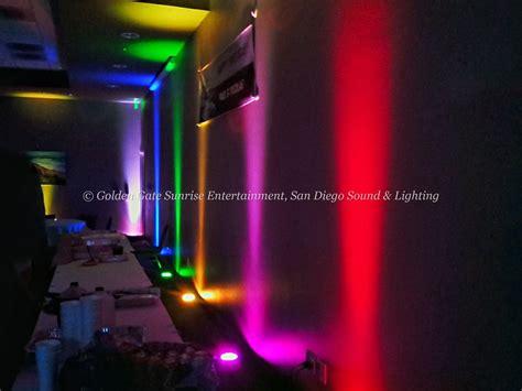Up Lighting Rental by Led Uplighting Rental San Diego Wall Lights Rental San