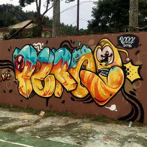 perol graffiti malaysia larva cartoon graffiti