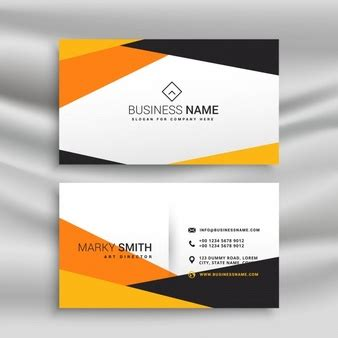 orange and black business card psd design techfameplus elegant logo vectors photos and psd files free download