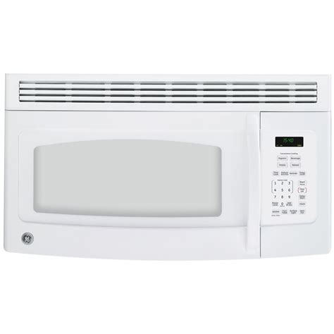 ge small kitchen appliances ge over the range microwave 1 5 cu ft jvm1540 sears