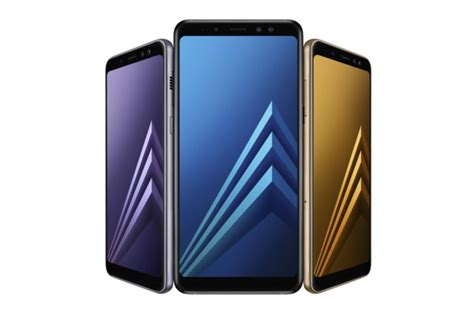 Samsung A8 N A8 Samsung S New A8 And A8 Plus Devices Feature A Dual Selfie