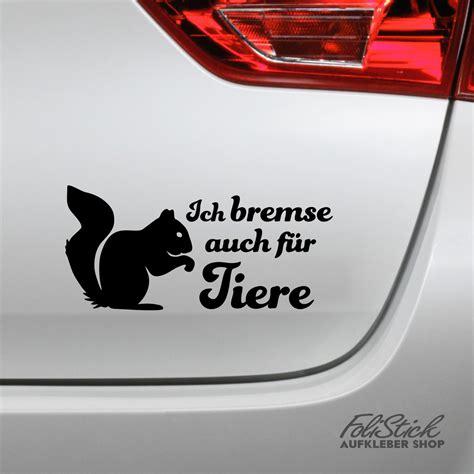Heckscheibenaufkleber Tiere by Ich Bremse Auch F 252 R Tiere Aufkleber Eichh 246 Rnchen