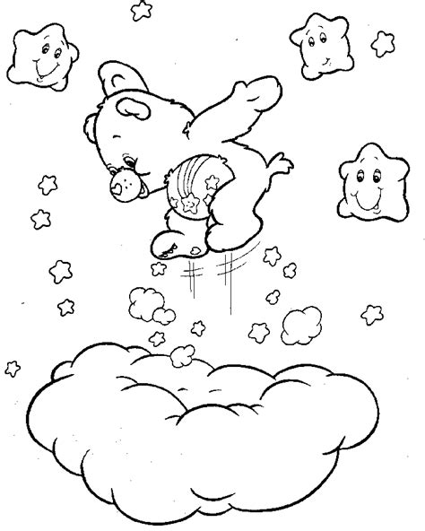 care bear coloring pages free printable pictures