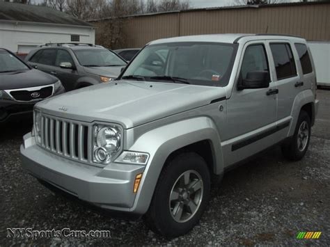 2008 jeep liberty silver 2008 jeep liberty sport 4x4 in bright silver metallic