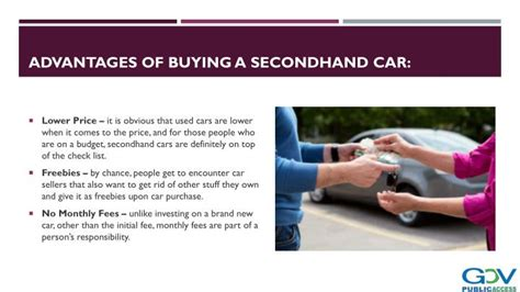 buying secondhand cars powerpoint  id