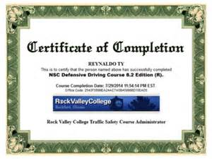2014 rey ty defensive driving certificate rockford il