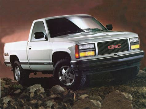 how cars run 1995 gmc 1500 regenerative braking 1993 gmc sierra 1500 overview cars com