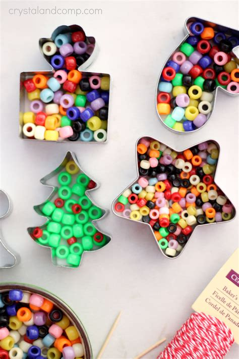 handmade beaded christmas ornaments