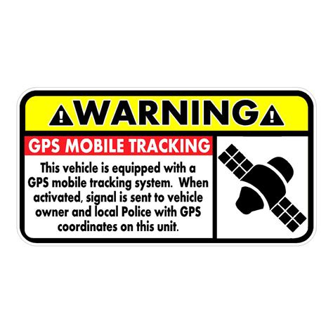 Gps Sticker For