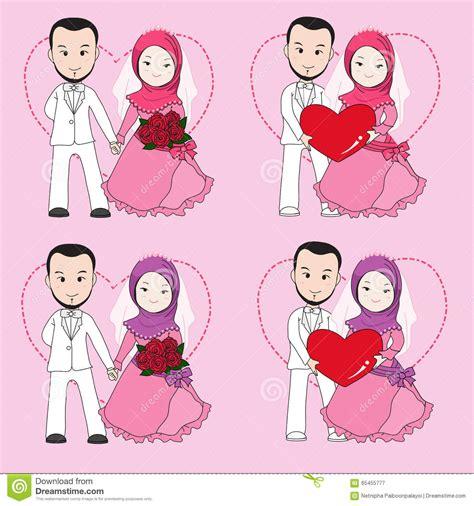 Muslimah Wedding Vector by Muslim Wedding Stock Vector Illustration Of