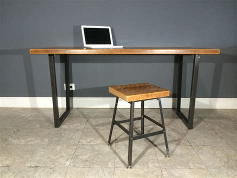 Industrial Modern Desk Modern Industrial Reclaimed Wood Desk By Urbanwoodfurnishings