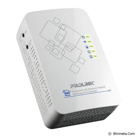 Adaptor Untuk Wifi Akses Point jual powerline adapter prolink 500mbps powerline av adapter with 300mbps wireless n access point