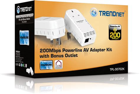 Teh Tpl trendnet launches compact 200 mbps powerline adapter with