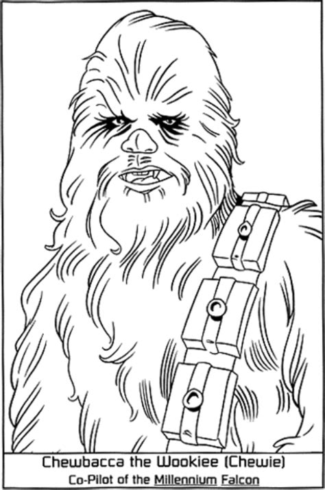free coloring pages wars chewbacca coloring pages az coloring pages