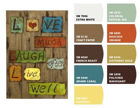 rustic color schemes rustic color schemes pinterest