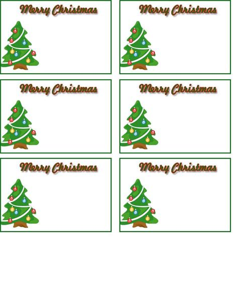 free printable name tags templates holiday pinterest