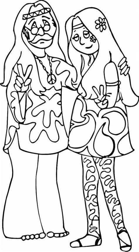 hippie coloring pages hippie coloring pages printable coloring pages