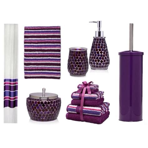 Bathroom Purple Accessories Let Purple Bathroom Accessories Glorify Your Bathroom