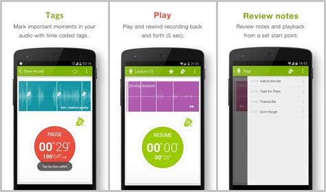 The best voice recording apps for Android to bring to conferences and lectures
