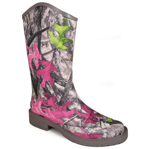 Womens Camo Rubber Boots by Smoky Mountain Boots S Oconee 10 Quot Camo Rubber Boot
