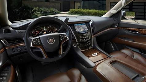 cadillac upholstery 2016 cadillac escalade release date changes specs