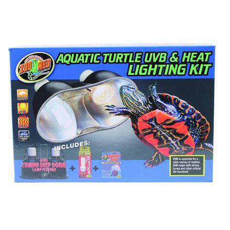 Heat L For Aquatic Turtles by Aquatic Turtle Uvb Heat Lighting Kit Aquarium Supplies