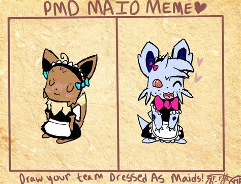 Maid Meme - pmd maid meme by cocoron on deviantart