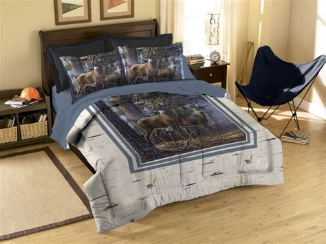 deer bedding set total fab rustic whitetail deer bedding and curtains