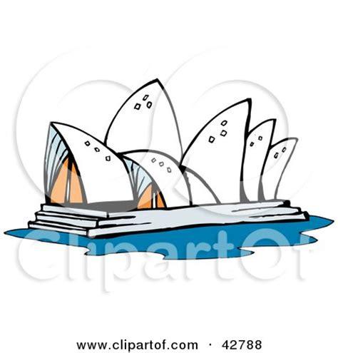 cartoon tattoo sydney royalty free rf sydney opera house clipart