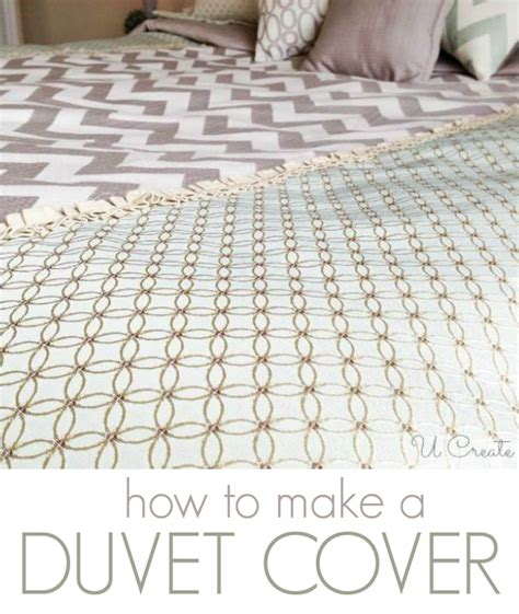 How To Create A Duvet Cover U Create