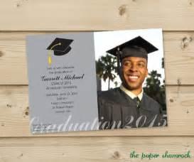 photo graduation invitation high school graduation