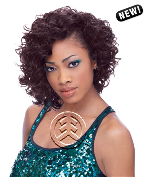 dejavu human hair blend weave short cut soft coil 3 pcs human hair blend weave sensationnel premium too shorty