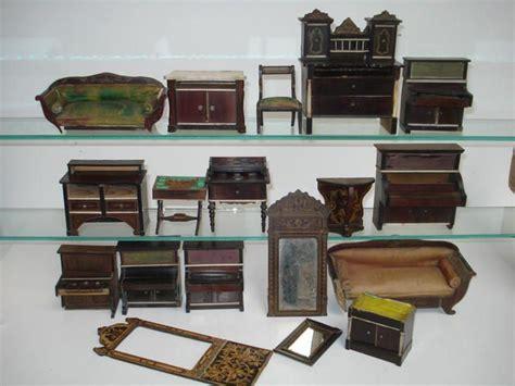 kredenz vintage collection of waltershausen dolls house furniture lot