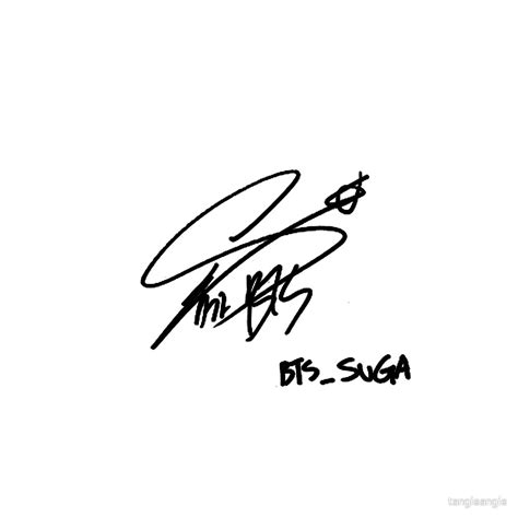 bts signature wallpaper quot bts s suga sign quot by tangieangie redbubble
