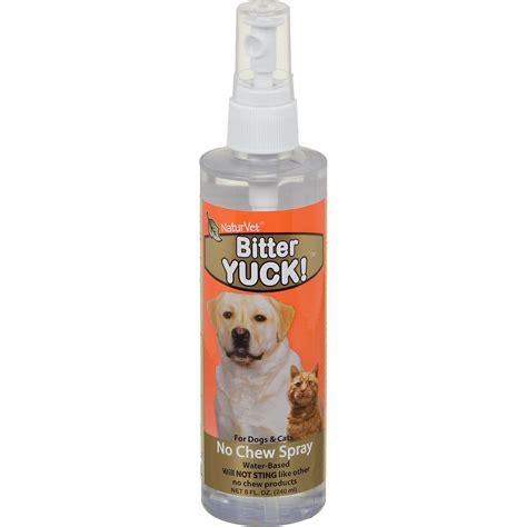 no chew spray for dogs naturvet bitter yuck no chew cat spray 16 oz naturalpetwarehouse