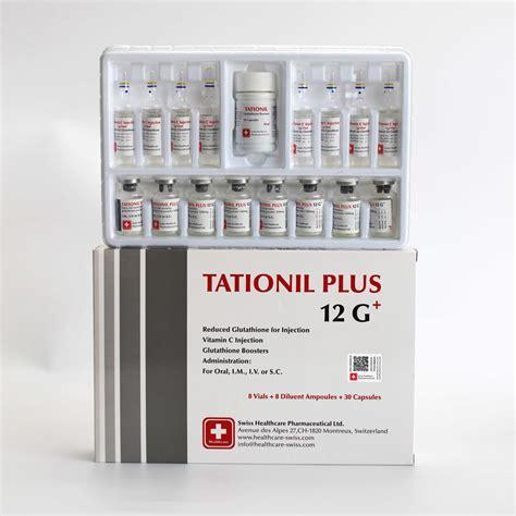 Gluta Swiss Plus tationil plus 12g swiss healthcare pharmaceutical ltd