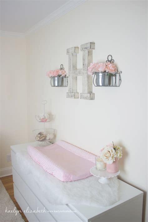 Nursery For Baby Shabby Chic Harlow S Shabby Chic Feminine Nursery Project Nursery