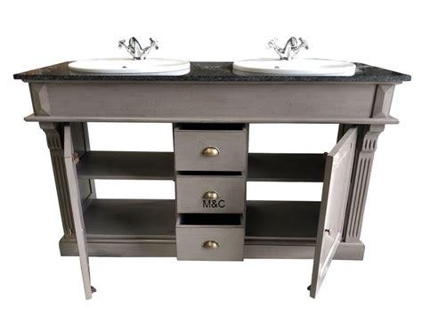 brocante meuble meuble salle de bain en bois ancien brocante et rustique
