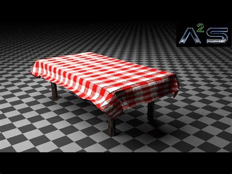 tutorial blender table blender tutorial table cloth youtube